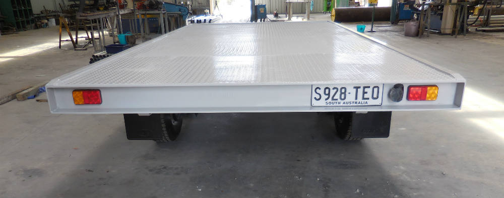 Flat Top Trailer - Channel Frame