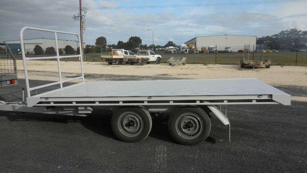 Flat Top Trailer - 5 T load capacity