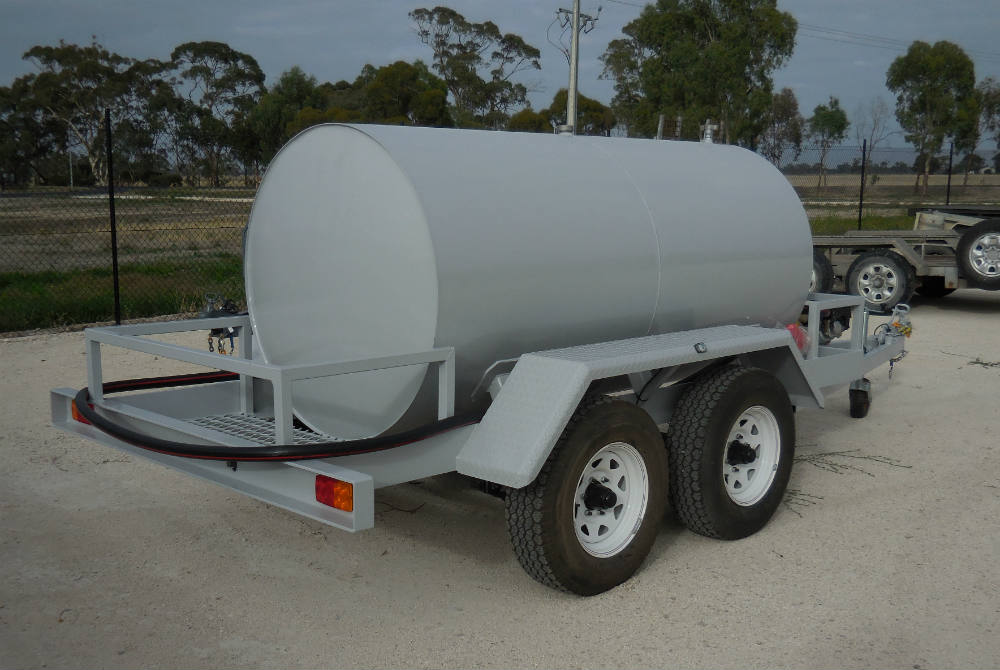 Fuel Trailer - 3.5T towing capacity