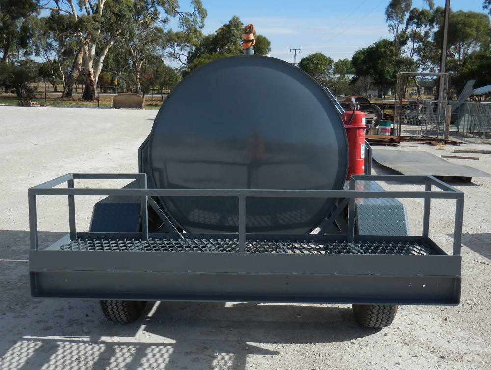 Fuel Trailers - Internal baffle