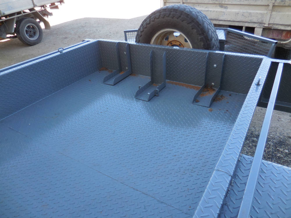 Tub Trailer - channel frame