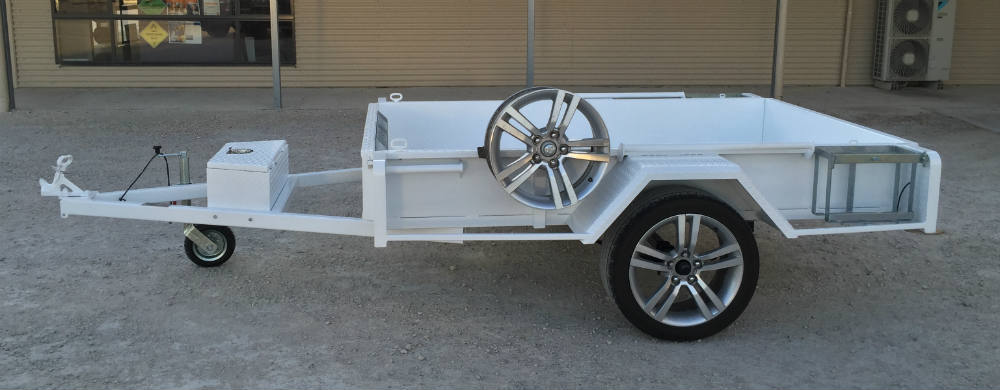 Tub Trailer - Electric Brakes