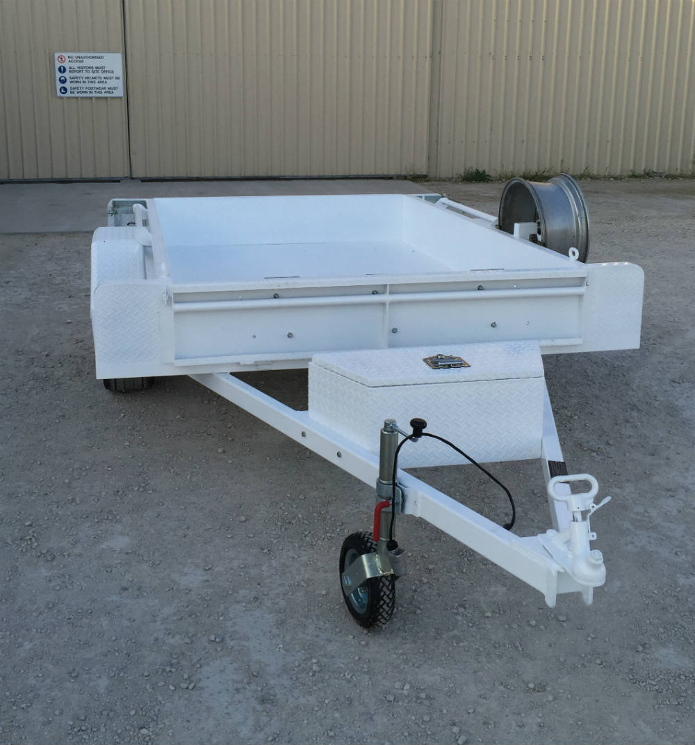 Tub Trailer - HD Jockey Wheel