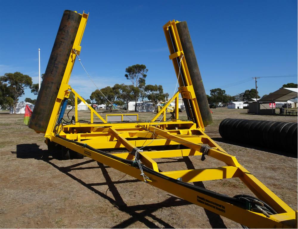 40ft Hydraulic Folding Roller