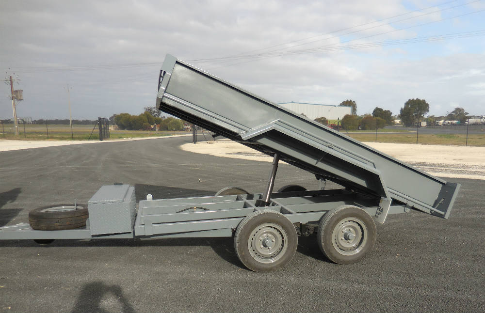 Tipping Trailers - RHS Frame