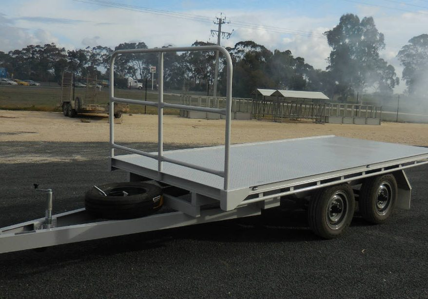 Flat Top Trailer - HD Jockey Wheel